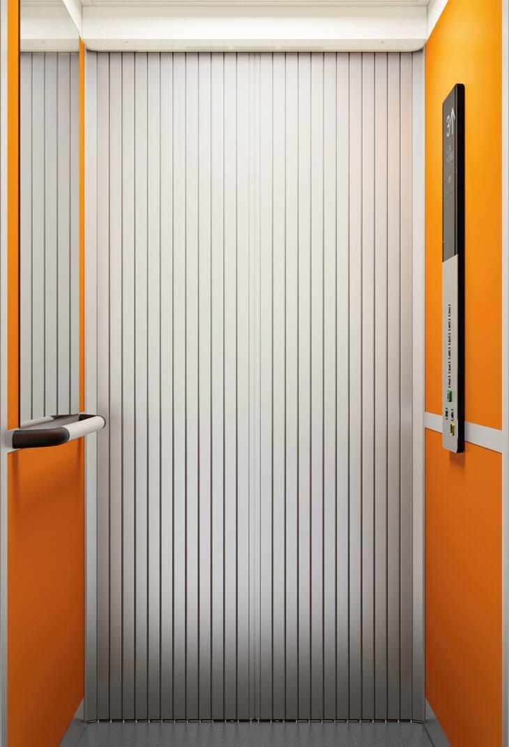 ascenseur kone prospace peu encombrant gaine. Black Bedroom Furniture Sets. Home Design Ideas